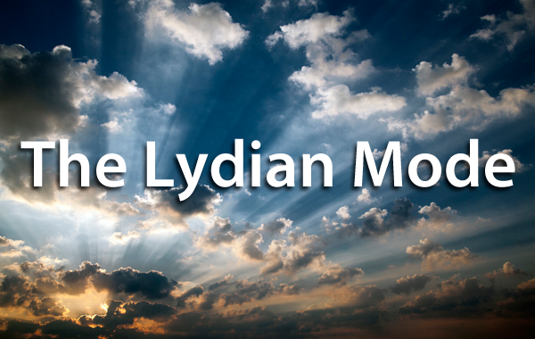 The Lydian Mode (Guitar Charts)