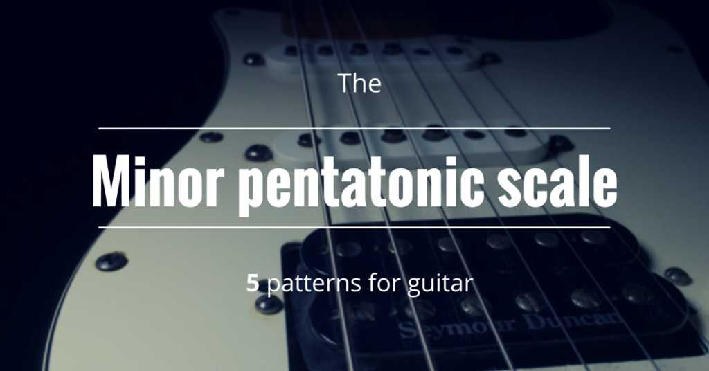 How to play the minor pentatonic scale on guitar