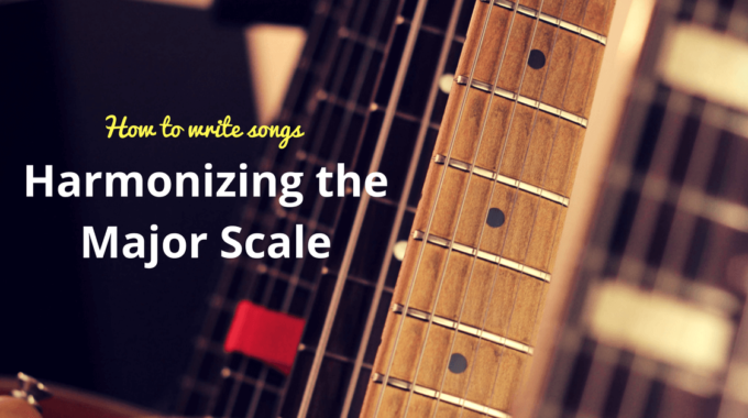 Hamonizing The Major Scale Or Chord Scales